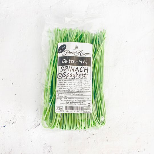 Pasta Regalo Gluten-Free Spinach Spaghetti pasta (500g)
