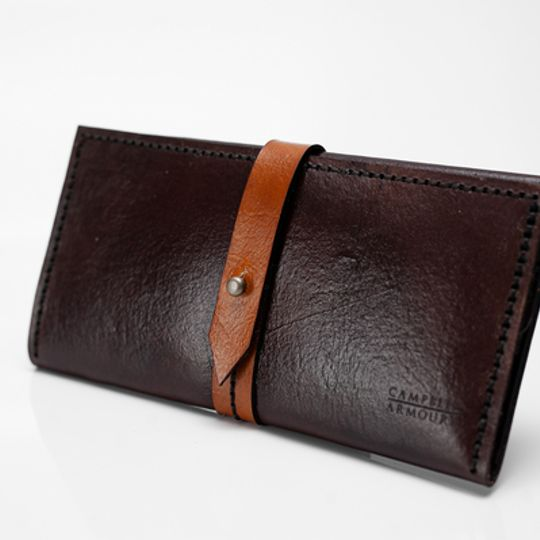 Ladies Wallet - Brown/Tan