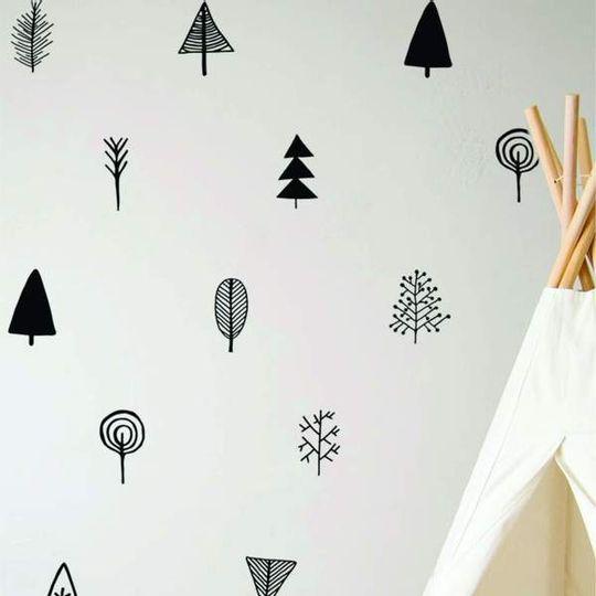Mini Tree Decal Set