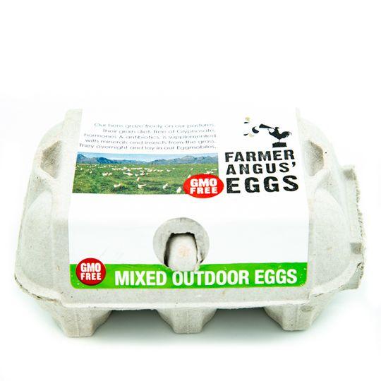 Non GMO Mixed Outdoor Eggs (6`s)
