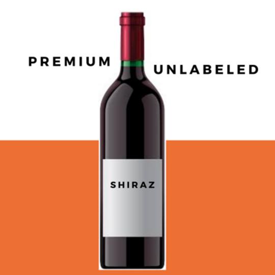 Odd Bins Premium Unlabeled Shiraz Case 6
