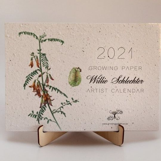 2021 Growing Paper Botanical Calendar | STAND