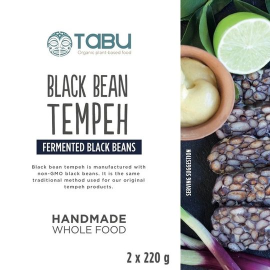 Black Bean Tempeh (440g)
