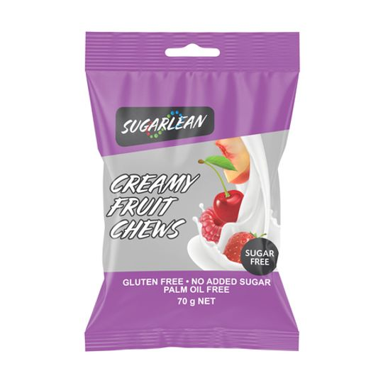 Sugarlean Creamy Fruit Chews (70 g)