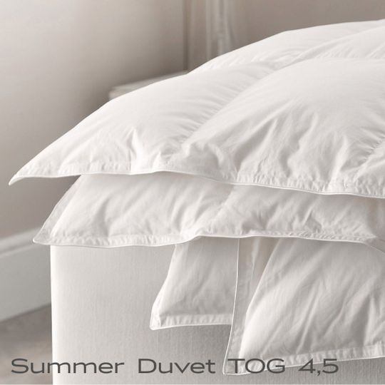 Superior Quality Goose Down Summer Duvets