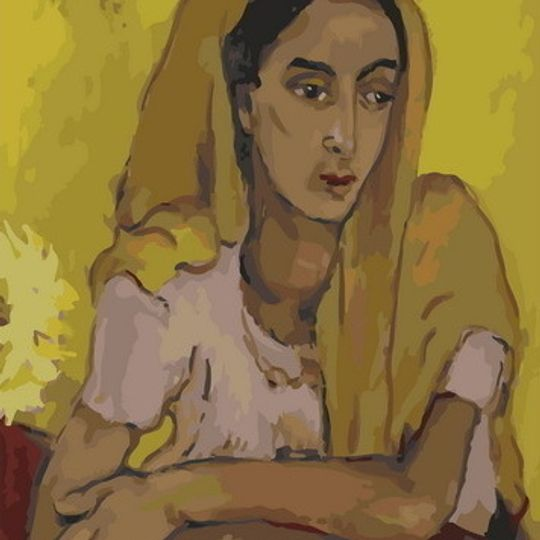 Irma Stern: Malay Lady in Yellow