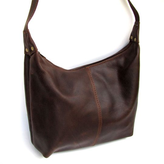 Handbag Large - Dark Brown