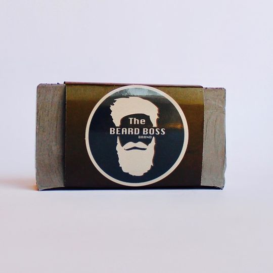 Charcoal and Clay Beard and Face Soap