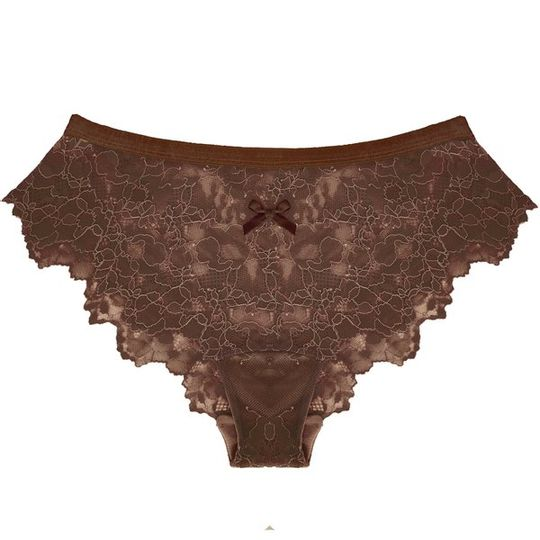 Lace Panty in Chocolate Fondue