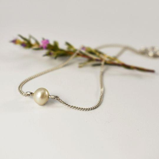 Pearl Dewdrop Bracelet