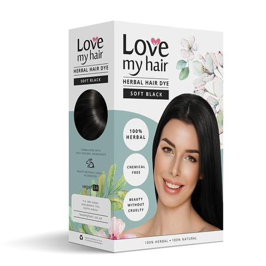 Love My Hair Soft Black Herbal Dye