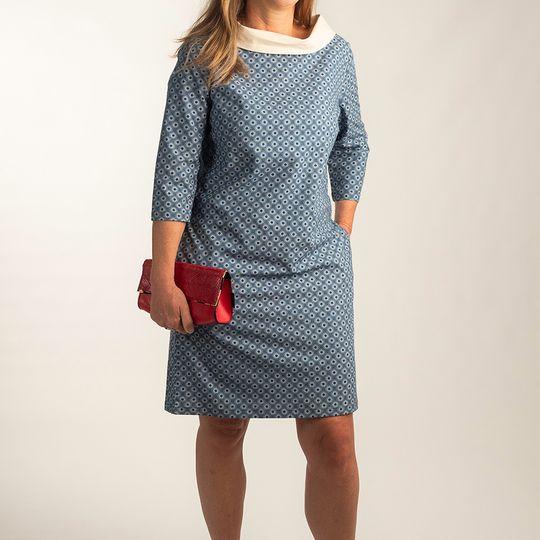 Dress Audrey Blue Iris
