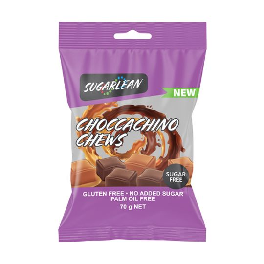 Sugarlean Choccachino Chews (70 g)