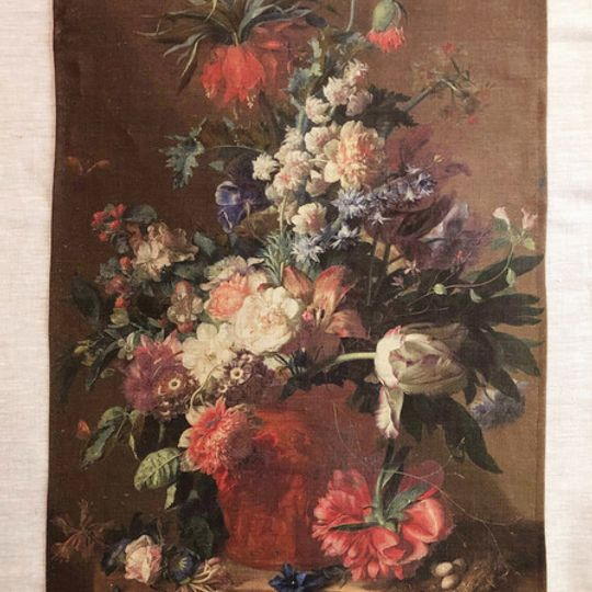 Dutch Painting Linen Cloth
