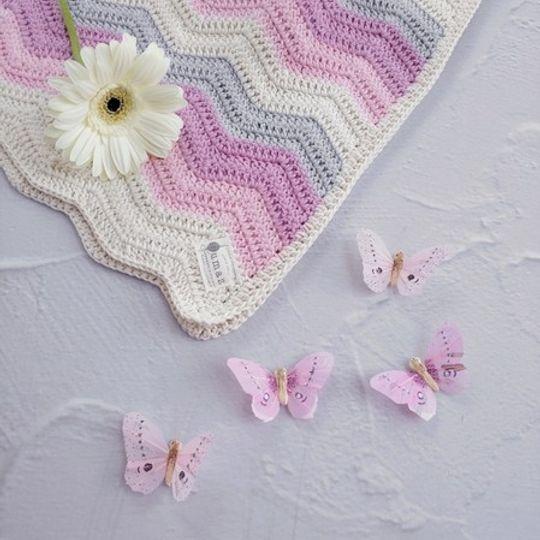 The Grace Blanket (Candy Floss Rainbow)
