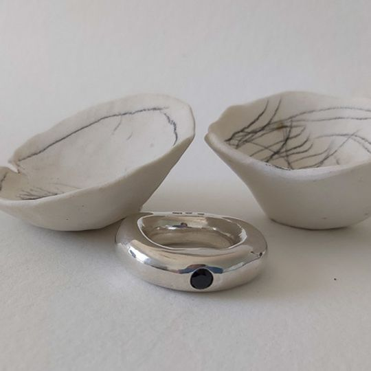 Kathrin ring silver