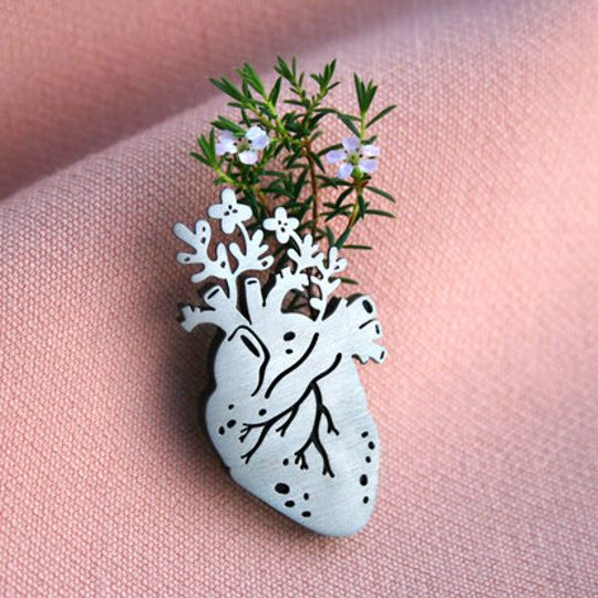 Fertile Heart Pin