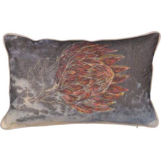 King Protea Cushion Cover (Printed)