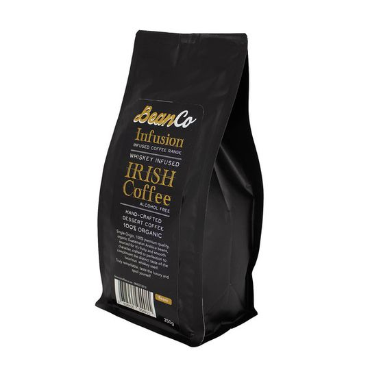 BeanCo Whiskey Infused Irish Coffee Beans (250g)