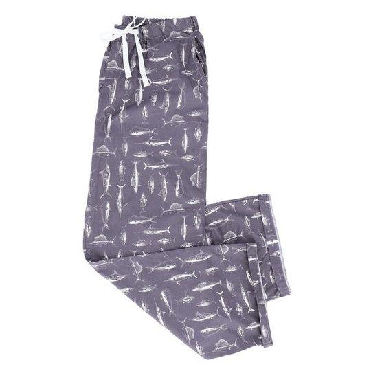 Long Pants Grey Fish