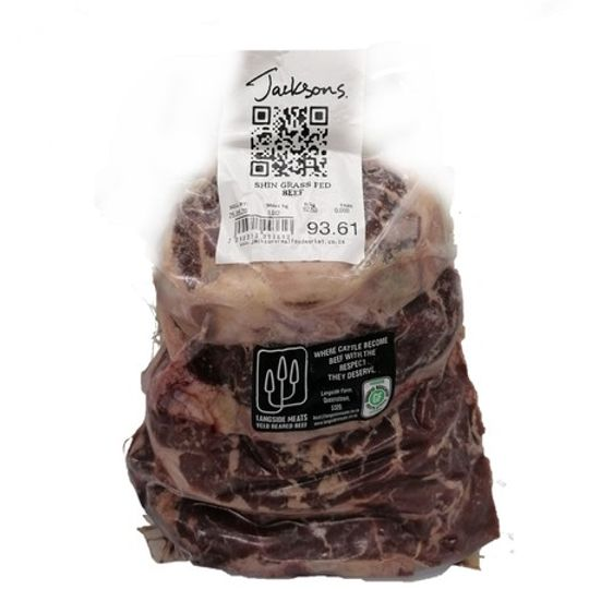 Grass-fed Beef Shin (+-920g)