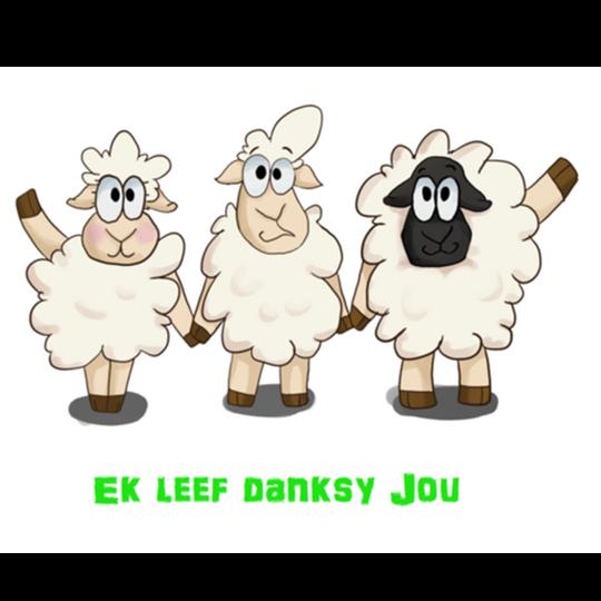 ADULTS Ek Leef Danksy Jou Shirt (Longsleeve)