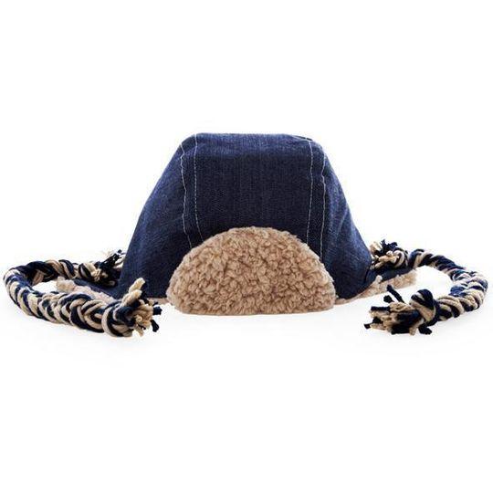 Winter Aviator Hat / Unisex - Denim Aviator - M0113