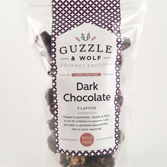 Guzzle & Wolf Dark Chocolate Popcorn