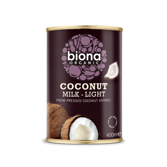 Biona Coconut Milk Light 9% Organic