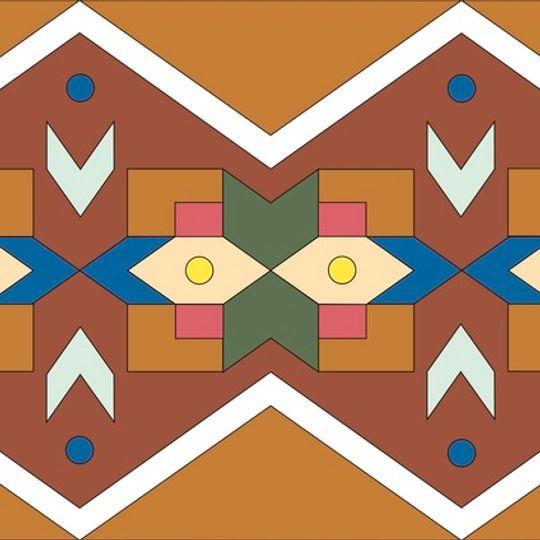 Ndebele Pattern Illustration