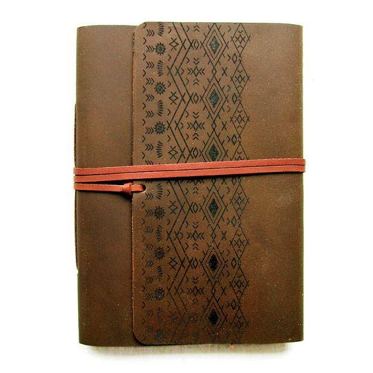 Travel Journal (A6 size) - Aztec