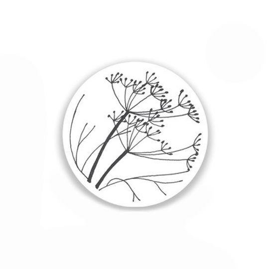 24 Coasters - Fine Herbs
