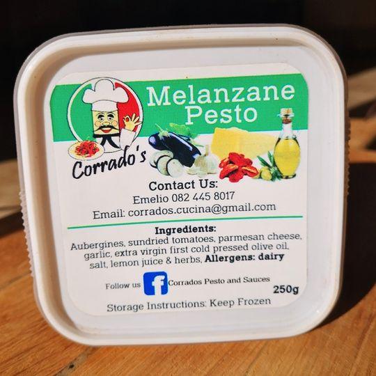 Corrado's Pesto & Sauces Melanzane Pesto (250g)