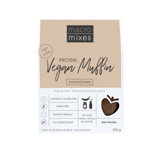 Macro Mixes Vegan Chococino Muffin (250g)