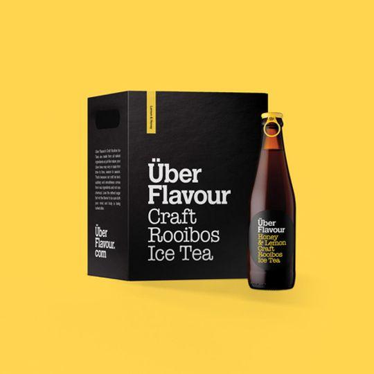 Uber Flavour Rooibos Craft Ice Tea Honey & Lemon