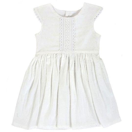 Dress / Girls - White - M0302