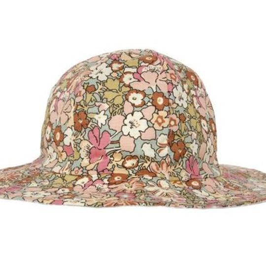 Hat / Girls - Vintage Floral - M0315