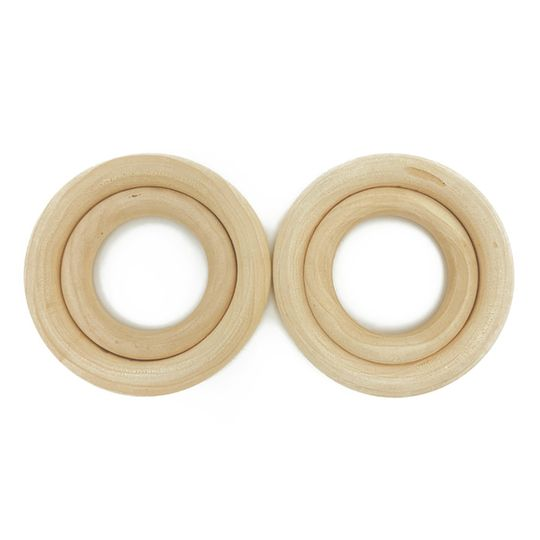 Wooden Rings 50mm