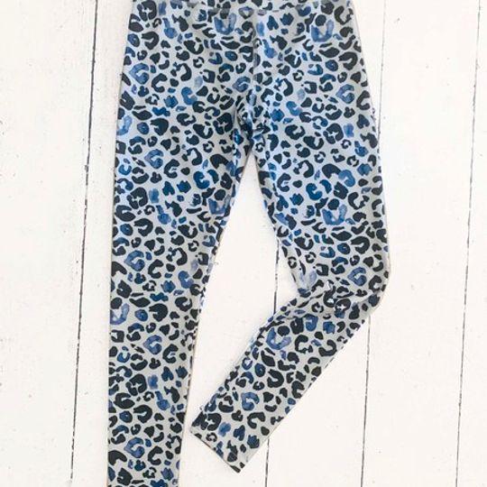 Leggings - Leopard Blue