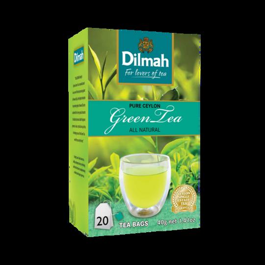 Dilmah Ceylon Green Tea (20 x 2g tagged tea bags)
