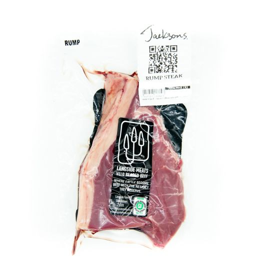 Grass-Fed Rump Steak (+-300g)