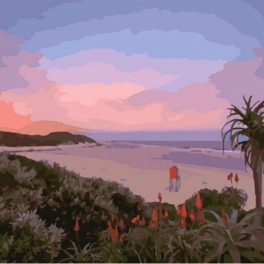 Kenton on Sea Sunset