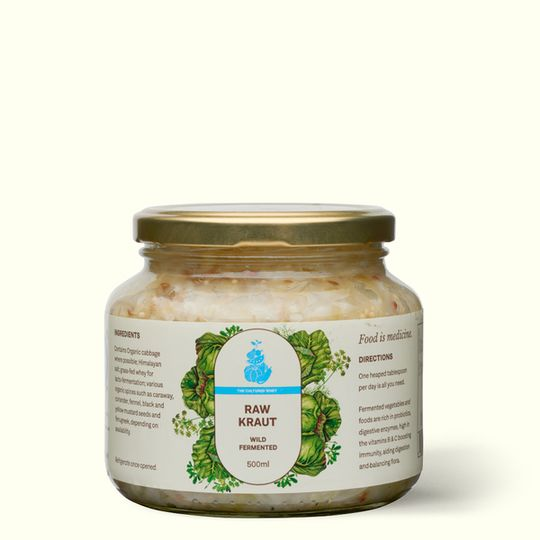 Raw Organic Kraut