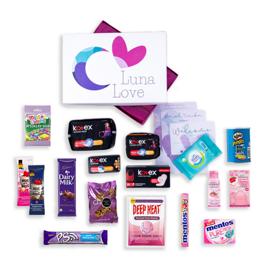 The Crescent Moon First Period Gift Box
