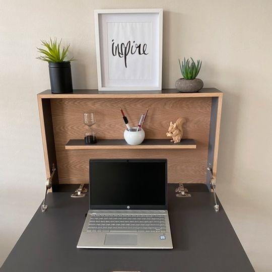 WFH Range: Floating Desk & Shelf (Rectangle Sides)