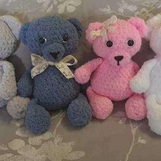 Annelise Soft Fluffy Bear