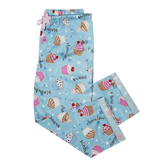 Girls Long Pants Cupcakes