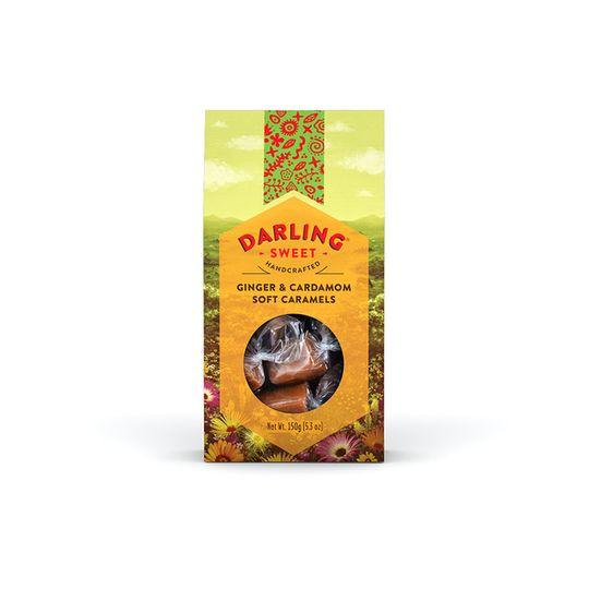 Darling Sweet Ginger & Cardamom Soft Caramels