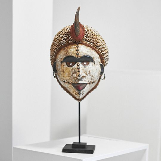 White mask from The Congo