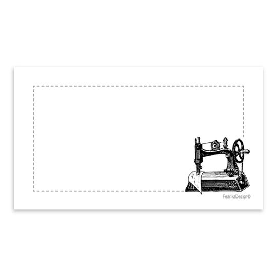 10 Little Letters - Sewing Machine